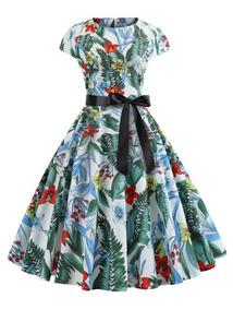 30d54c4f7 Vestidos Estilo Vintage - Vestidos de Mujer S en Mercado Libre México
