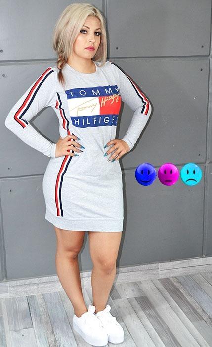 01267c7de Vestido estilo sport manga larga en mercado libre jpg 429x700 Sport con mangas  vestidos