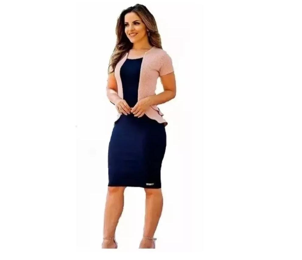 d549a704c3 Vestido Evangelico Moda Jovem Roupas Femininas - R$ 89,99 em Mercado ...