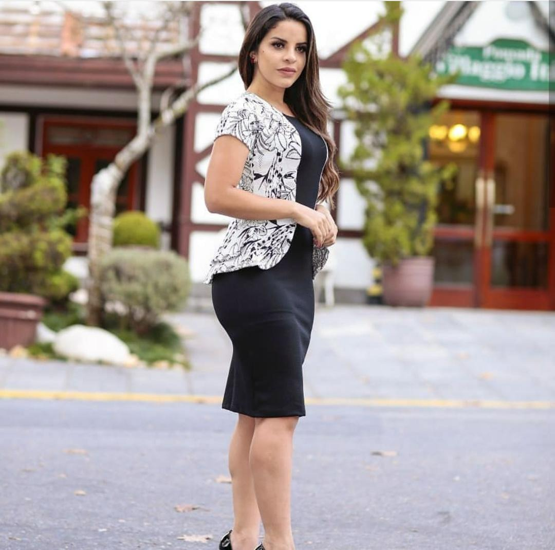 48c430b9d6 Vestido Evangélico Moda Jovem Roupas Femininas - R$ 49,99 em Mercado ...