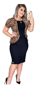 521e9e81b43574 Vestido Evangelico Moda Social Tubinho Roupas Femininas