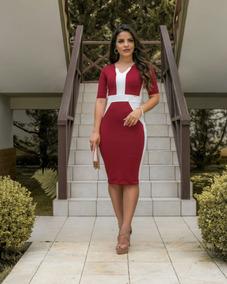 ded220dea Vestido Modelo Evangelico - Vestidos Femeninos com o Melhores Preços no  Mercado Livre Brasil