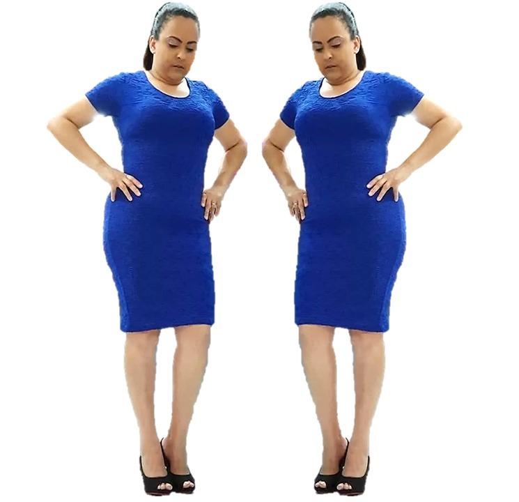 3953be9934 Vestido Evangélico Tubinho Moda Social Roupas Femininas - R  64