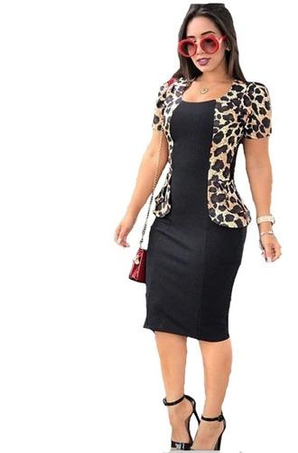 vestido evangelico tubinho social moda roupas femininas