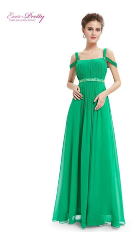 vestido ever-pretty chiffon importado pronta entrega brasil