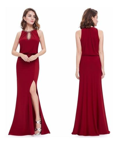 vestido ever-pretty elegante luxo pronta entrega brasil