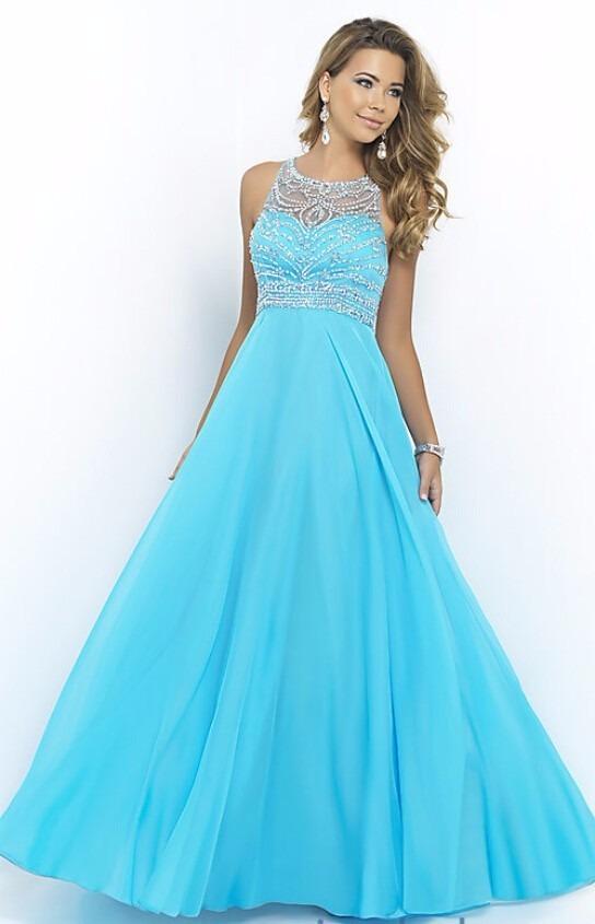Vestido para madrinha azul royal para comprar