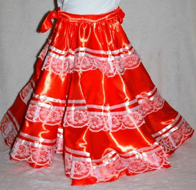 671dd81bb Vestido Falda Pinotepa Oaxaca Tipico Disfraz Guelaguetza