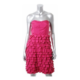 Vestido Falda Tablitas. Importado Usa