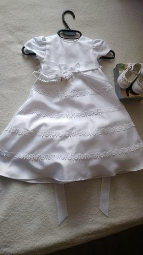 vestido faldellin y zapatos