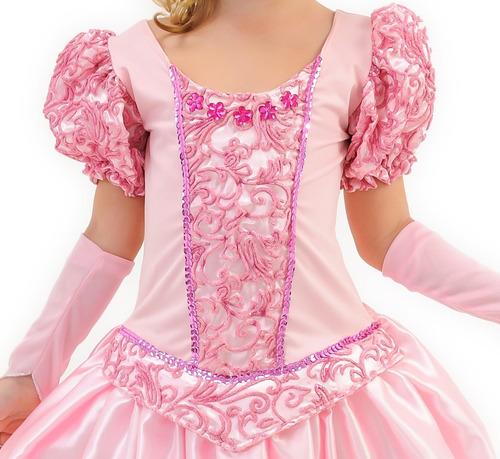 vestido fantasia infantil bela adormecida princesa aurora