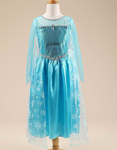 vestido fantasia infantil - elsa frozen disney