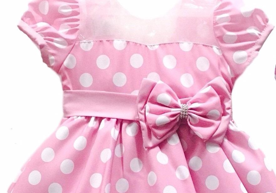13901df636 vestido fantasia infantil festa luxo minnie rosa e tiara. Carregando zoom.