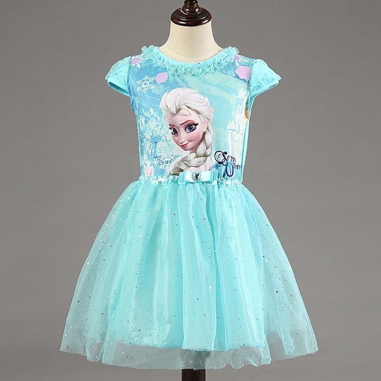 9e49b7310 Vestido Fantasia Infantil Frozen Elsa Anna - R  69