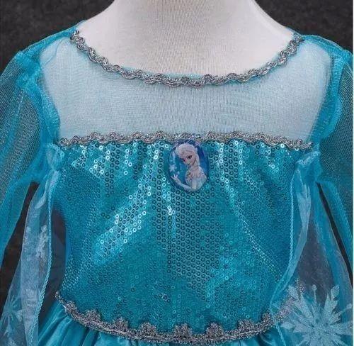 vestido fantasia infantil frozen rainha elsa