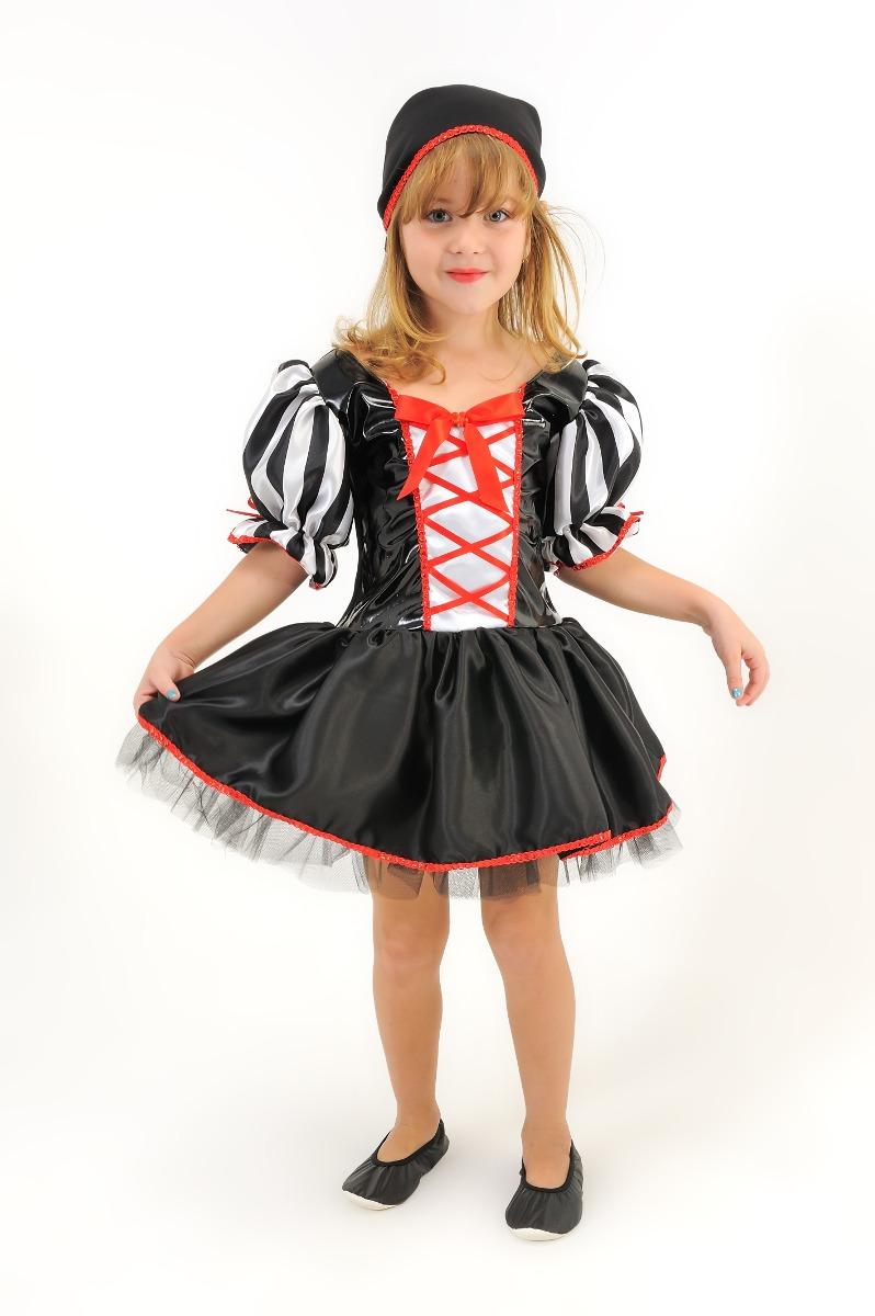 vestido fantasia infantil pirata feminina menina! promoção!! Carregando  zoom. e00348e6831