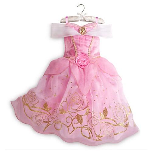 vestido fantasia princesa aurora a bela adormecida