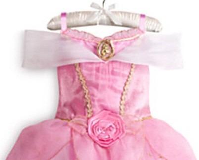vestido fantasia princesa aurora a bela adormecida + brinde