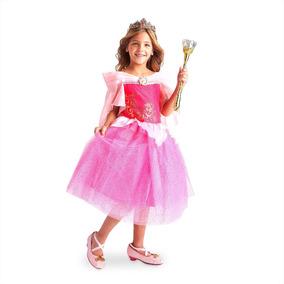 0c397355d7 Vestido Fantasia Rapunzel Loja Da Disney Tam 5 6 Anos