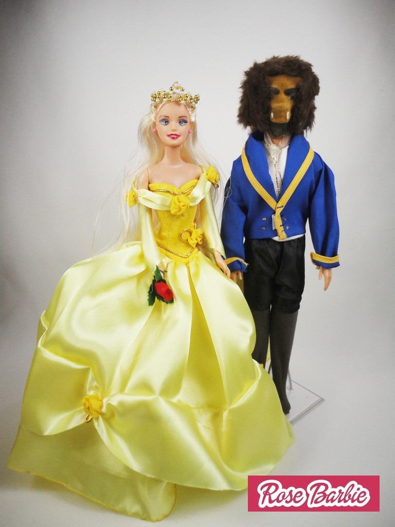f31b5371da Vestido Fantasias P  Barbie