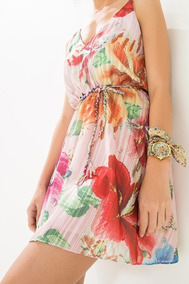 f4503d9fb Vestido Floral Da Farm - Calçados, Roupas e Bolsas no Mercado Livre Brasil