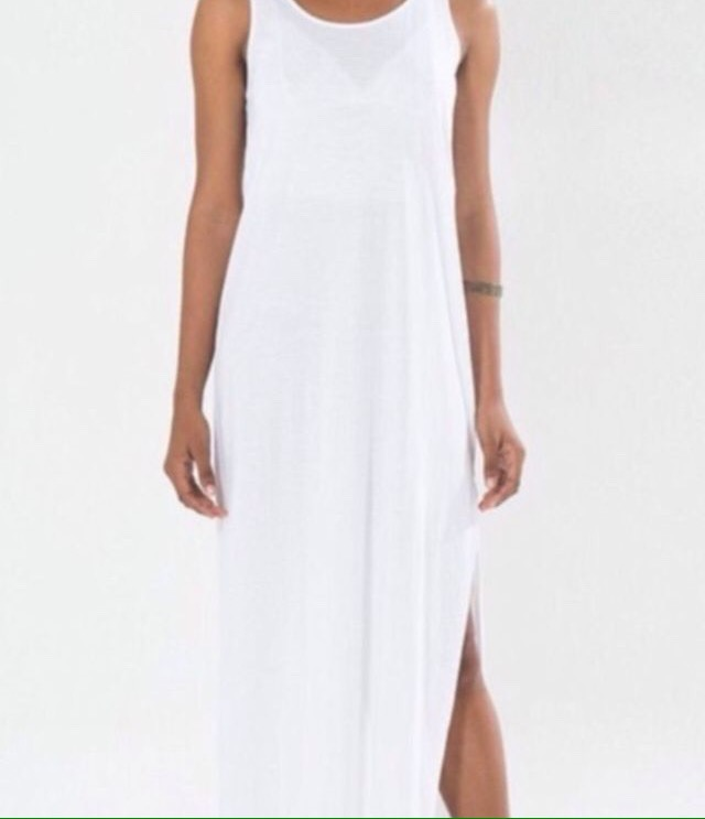 Vestido Farm Longo Branco