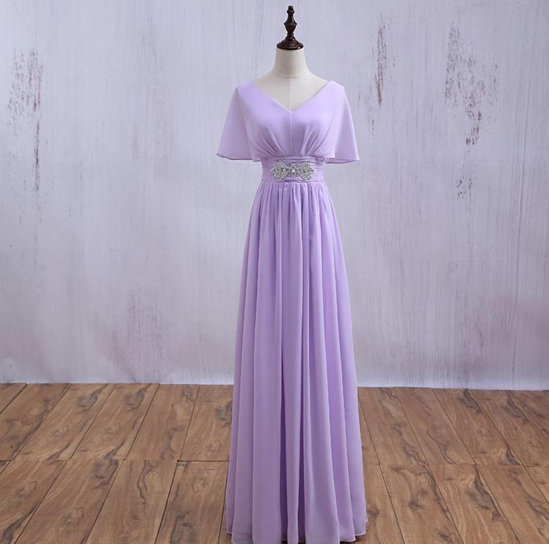 Vestido Fashion Elegante Purple Fiesta Grados Cóctel Boda ...