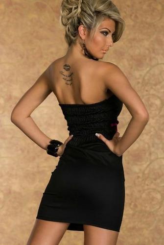 vestido fashion laço importado pronta entrega no brasil