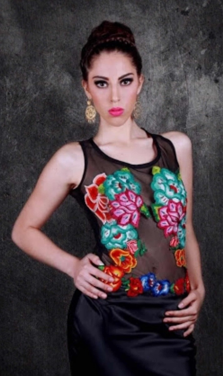 Calvo 00 Textil500 Faviola Arte Vestido fvy6gYb7