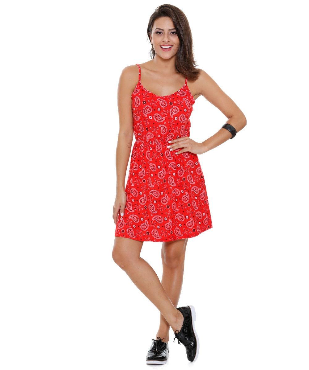 45adb3689a vestido feminino alças finas estampa floral. Carregando zoom.