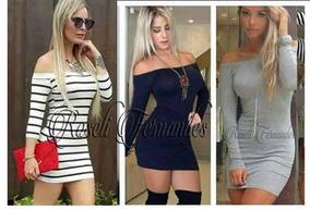 3901b2ceb Vestido Direto Fabrica Caruaru - Vestidos Femininas no Mercado Livre Brasil