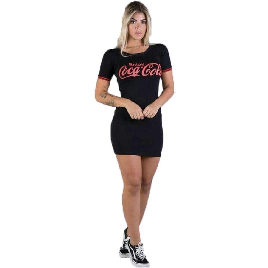 32521cd64a Vestido Feminino Coca Cola Lindo Instagram - R  35