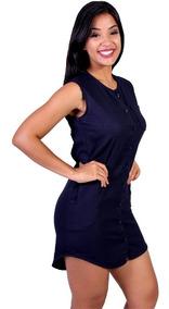 6d58139a7a94 Vestidos Femeninos Azul-marinho em Amazonas com o Melhores Preços no  Mercado Livre Brasil