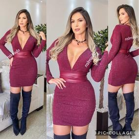ec969e8c7 Frete Gratis. Vestidos Vestido Tubinho Lurex - Vestidos no Mercado ...