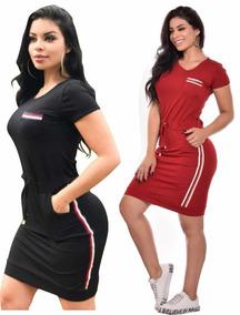 754085044 Vestido De Amarrar Atras - Vestidos Femininas Vermelho no Mercado ...