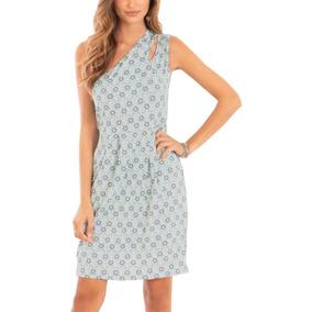 536a36d64 Vestido Curto Geometrico Preto Azul - Vestidos no Mercado Livre Brasil