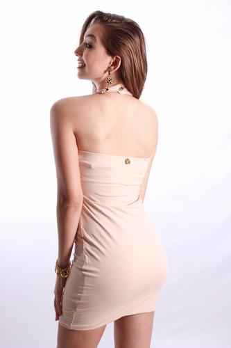 vestido feminino curto festa elegante balada justo
