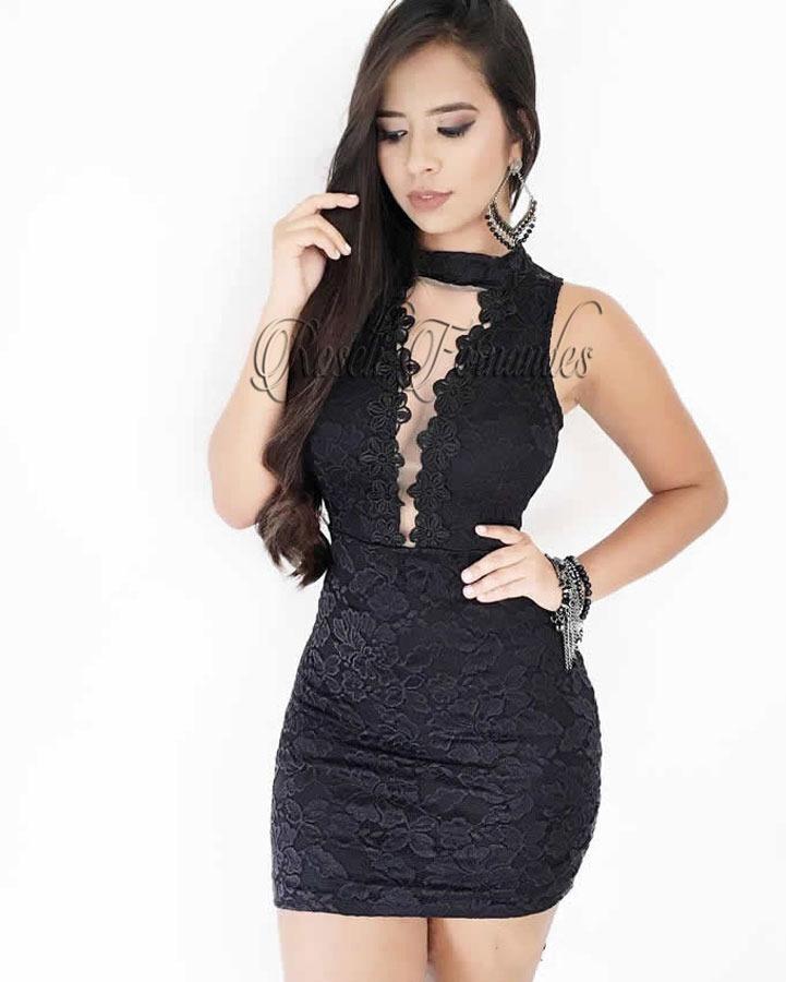 95eb3117e vestido feminino curto festa roupas direto fabrica em renda. Carregando  zoom.