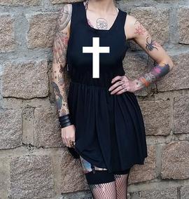 dd2fa00082 Vestido Gotico Suave - Vestidos Curtos Femininas no Mercado Livre Brasil