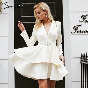 Vestido Branco Longo De Manga Vestidos Femeninos Em Bahia