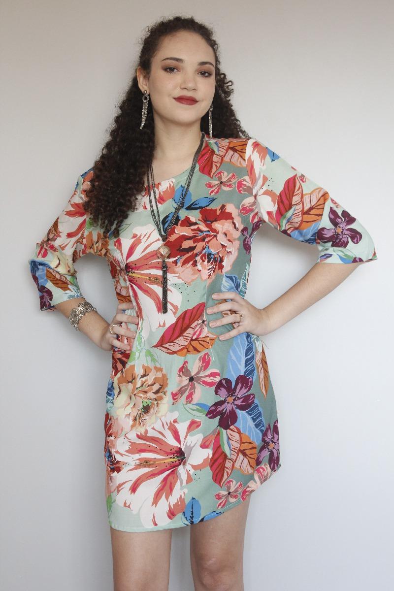 ecfdd2c86 vestido feminino festa estampado floral primavera verão 2018. Carregando  zoom.