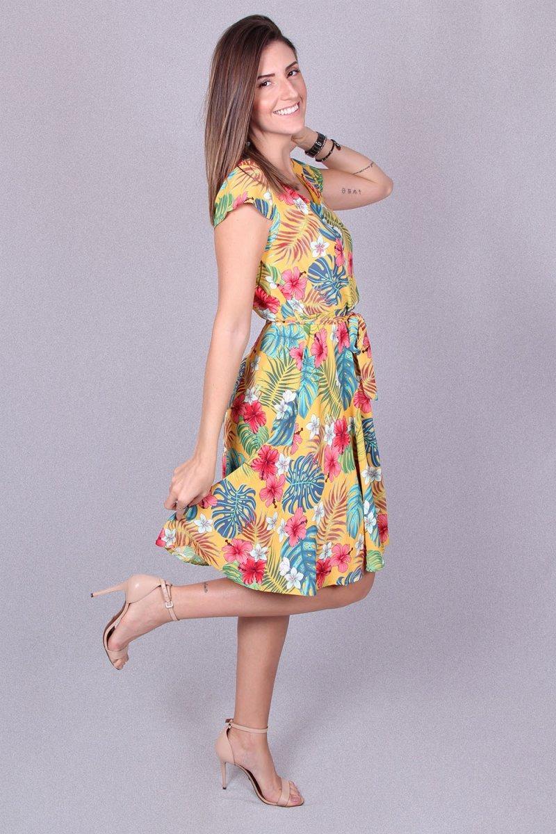 2475e40d6f vestido feminino florido fruvia - asya fashion. Carregando zoom.