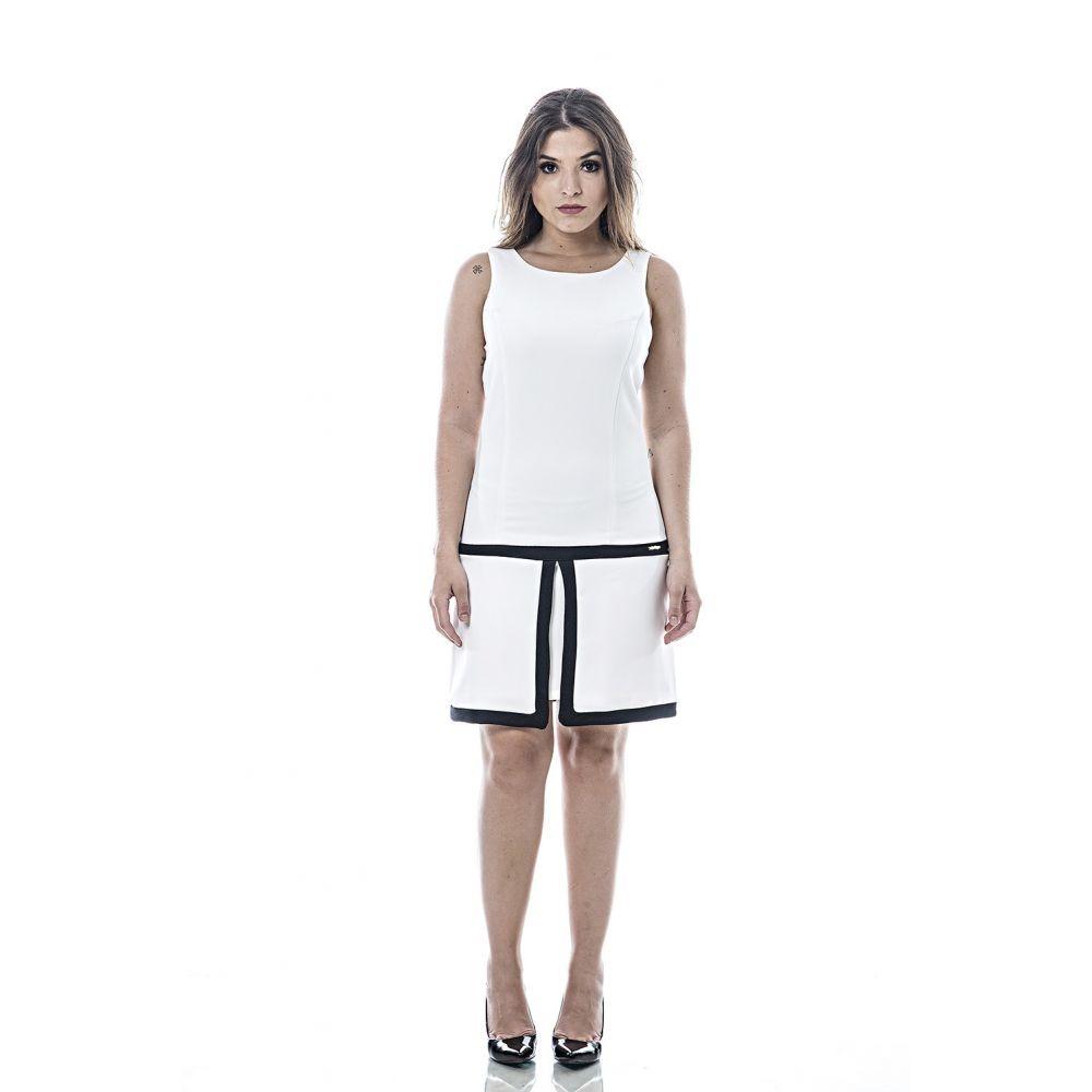 9e68317be1 vestido feminino la rossi off white. Carregando zoom.