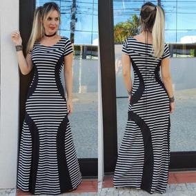 96740e3e0 Vestido Longo Evangelico - Vestidos Longos Femininas no Mercado Livre Brasil