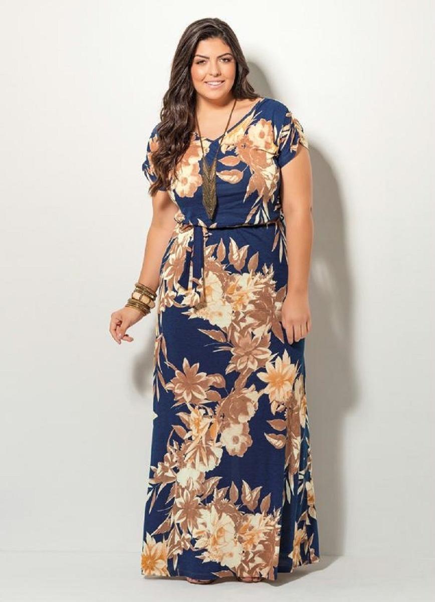 b1930f3ff vestido feminino longo plus size roupas femininas vestidos. Carregando zoom.