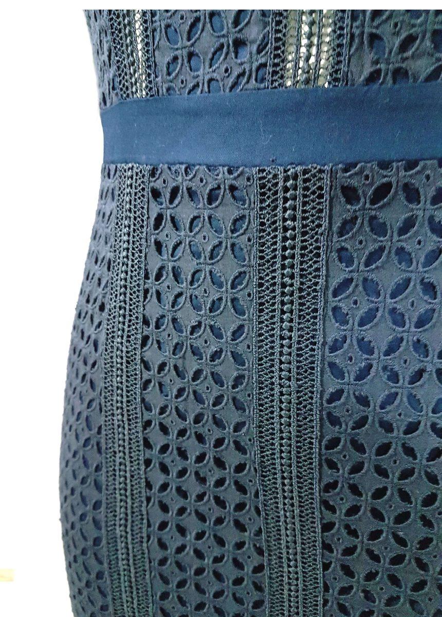 f7786cb36a vestido feminino midi em renda manga curta sublime borda bar. Carregando  zoom.