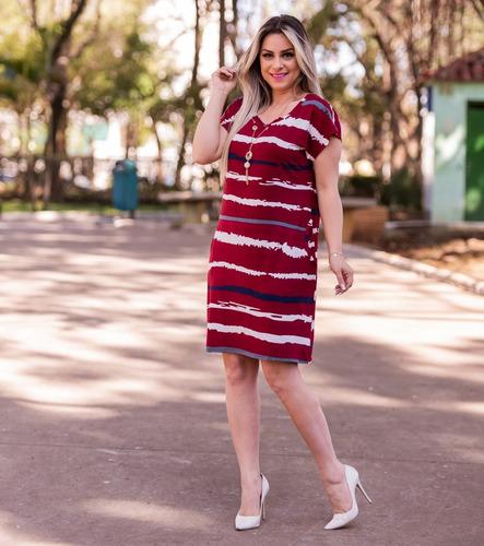 vestido feminino midi soltinho + colar festa moda evangélica
