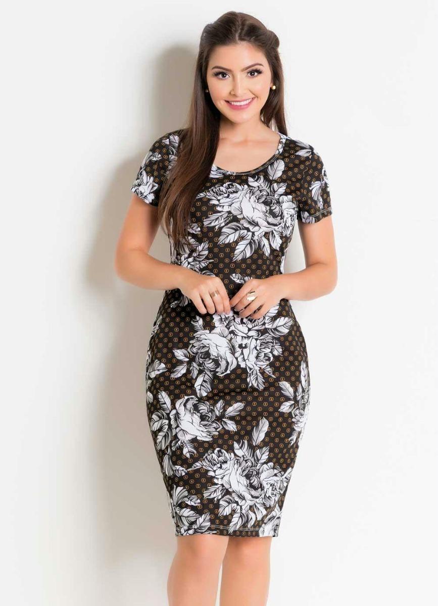 389262e0e vestido feminino midi tubinho social festa moda evangélica. Carregando zoom.