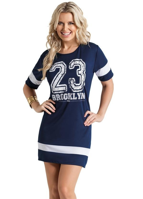 4a92a6fe7c vestido feminino modelo esportivo curto futebol americano 23. Carregando  zoom.