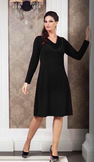 9953fa9c9a Vestido Feminino Plus Size Casamento Formatura Gola Boba - R  167